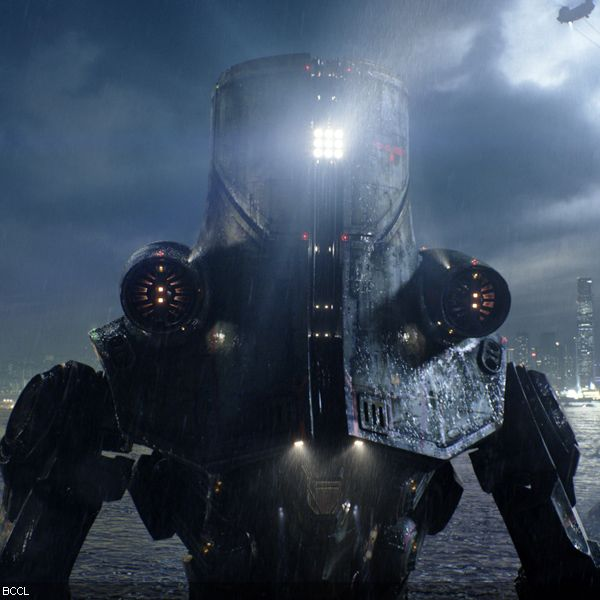 A still from the Hollywood movie Pacific Rim.