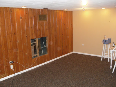 From the ground up basement living area for T g wall panelling in bathroom