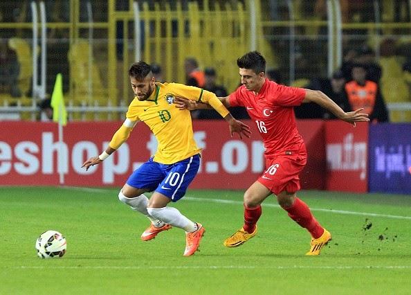 Neymar tỏa sáng giúp tuyển Brazil thắng đậm Thổ Nhĩ Kỳ
