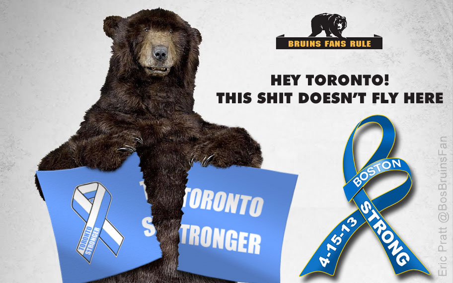 Bruins Hockey Rules Toronto Stronger sucks