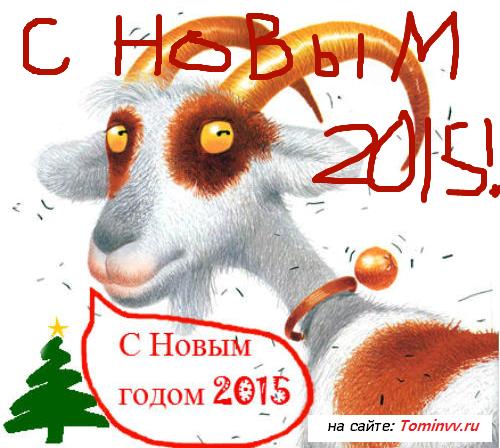 С годом Козы 2015!
