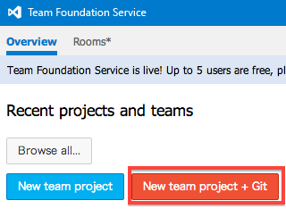 New team project + Git