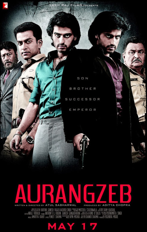 Poster Of Hindi Movie Aurangzeb (2013) Free Download Full New Hindi Movie Watch Online At Alldownloads4u.Com