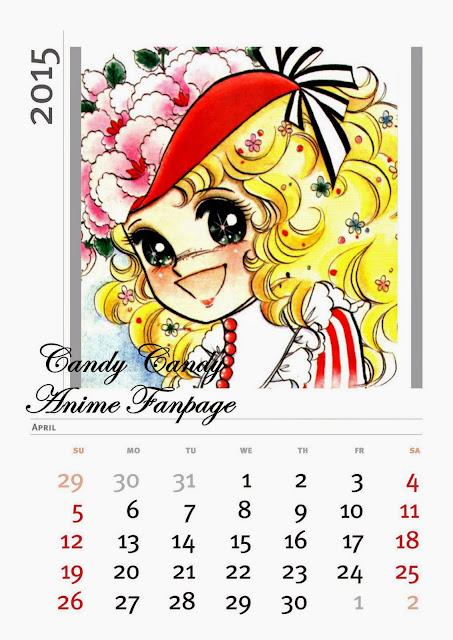 Calendario mes deAbril