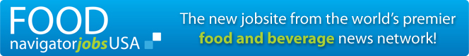 FoodNavigator Jobs USA - the new jobsite from the world's premier food and beverage news network!