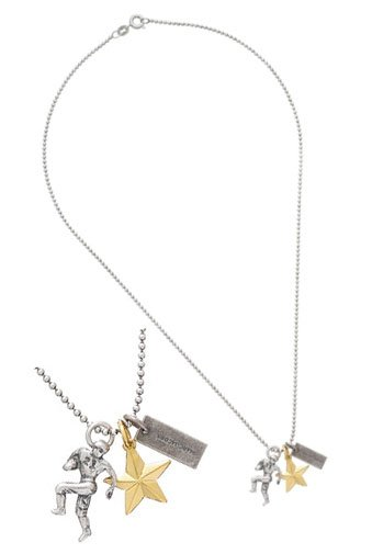 Marc By Marc Jacobs All Star Charm Necklace
