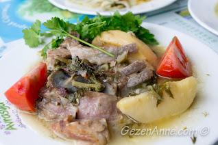 şevketibostanlı oğlak, Avrasya ev yemekleri, Alaçatı