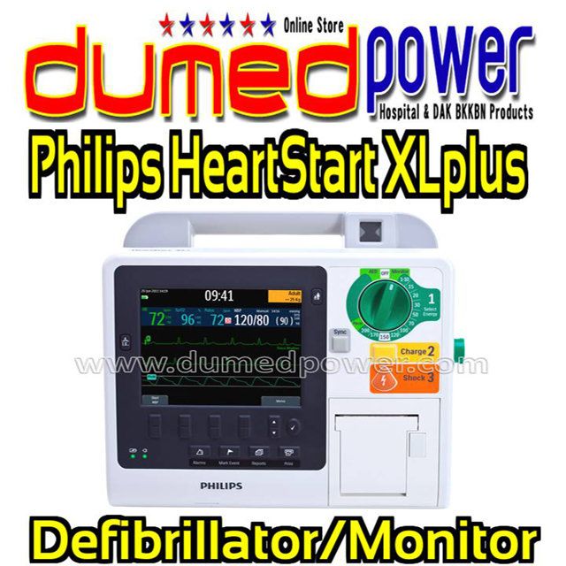 Philips-HeartStart-XL-plus-Defibrillator-Monitor
