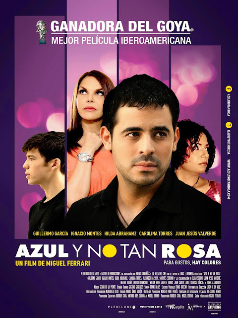 Gay Movie : Azul y no tan rosa