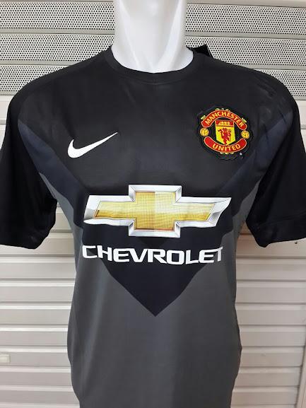 Jual Jersey Kiper Away Hitam Manchester United 2014-2015