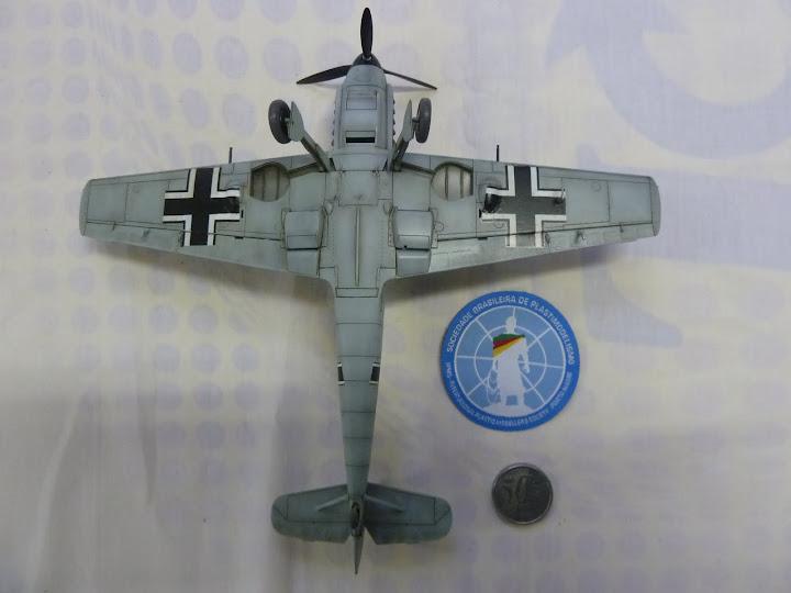 Bf-109 E-3 Tamiya 1/48 - Reforma pintura P1020659