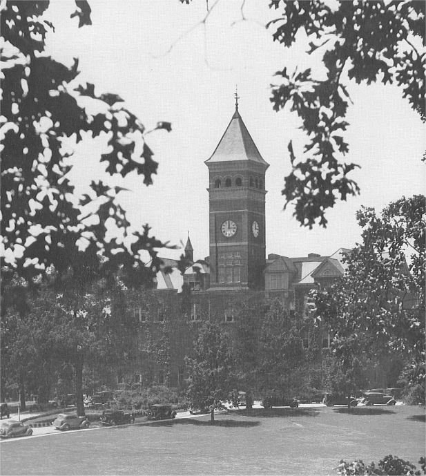 Mintaka's Historic Clemson Photos Photos - 1930, Campus, Mintaka, Tillman Hall