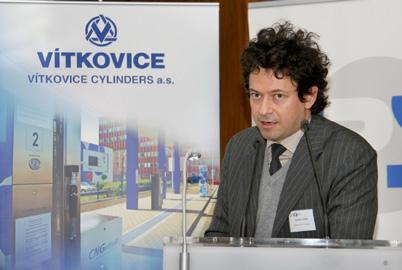 Gabriello Gozzi na konferencji Praga NGV 2011