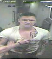 A man British Transport Police would like to in relation to an incident on a train between Blackpool North and Preston on 29th March 2013.
