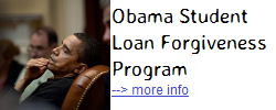 Obama Student Loan Forgiveness Program