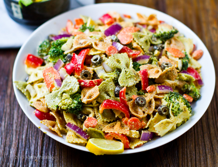 Easy pasta primavera salad recipe