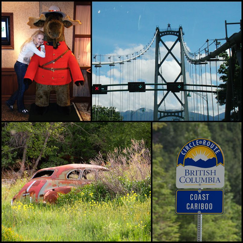 Die Fahrt von Vancouver nach Kamloops