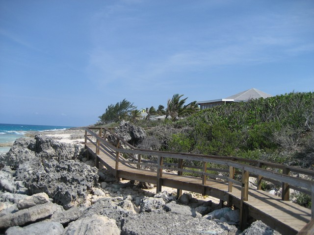 boardwalk at Stella Maris Resort