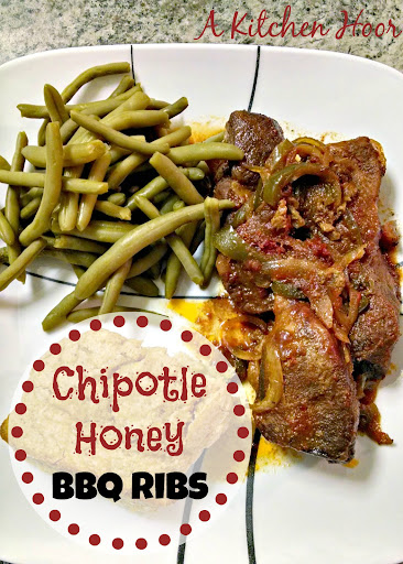 A Kitchen Hoor's Adventures | Chipotle Honey BBQ Ribs