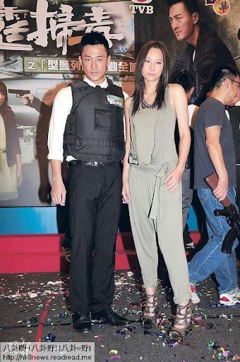 林峯(左)與徐子珊(右)落力為新劇宣傳,順道為爭奪視帝視後鋪路。