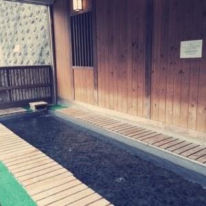 足湯 もえぎの湯 東京温泉