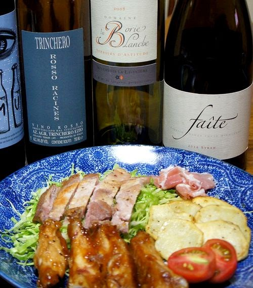 肉とワイン