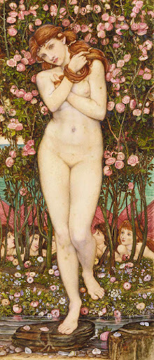 John Roddam Spencer Stanhope - Flora and the Zephyrs
