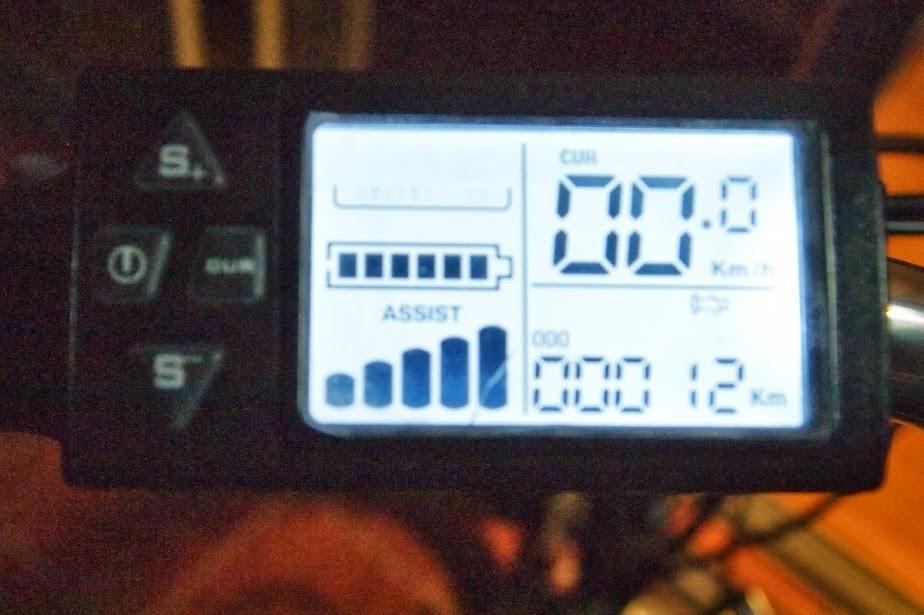 Display/controlador de la Coluer EF LUX 100 PA187562