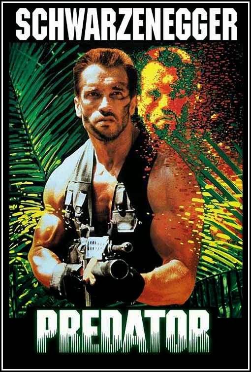 Poster Of Predator (1987) Full Movie Hindi Dubbed Free Download Watch Online At Alldownloads4u.Com