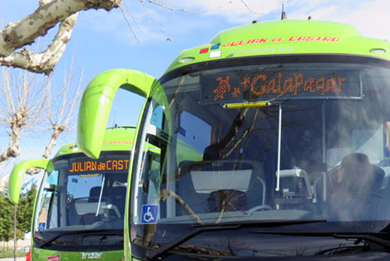 Nuevos autobuses interurbanos para el corredor de la A-6