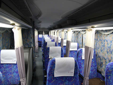 伊予鉄道「オレンジライナー」名古屋線 5220 車内