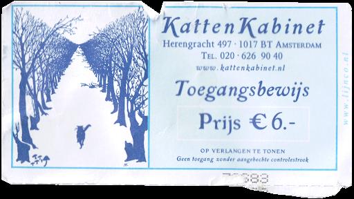 KattenKabinet Ticket