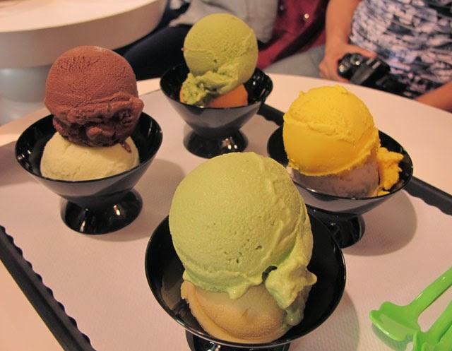 >Frajo的冰淇淋有幾種口味顏色看起來好像-FRajo冰淇淋