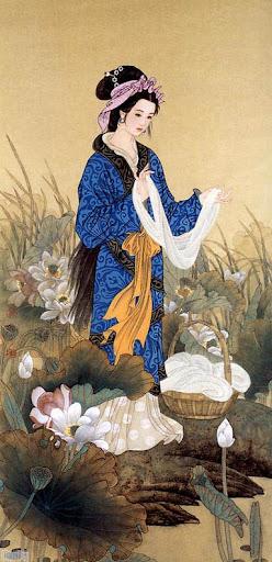 Goddess Xi Shi Image