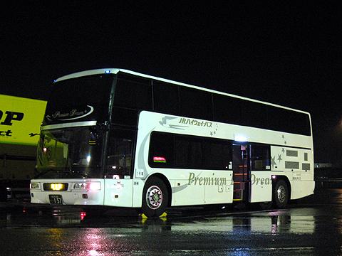 西日本JRバス「プレミアムドリーム号」・157 多賀SAにて