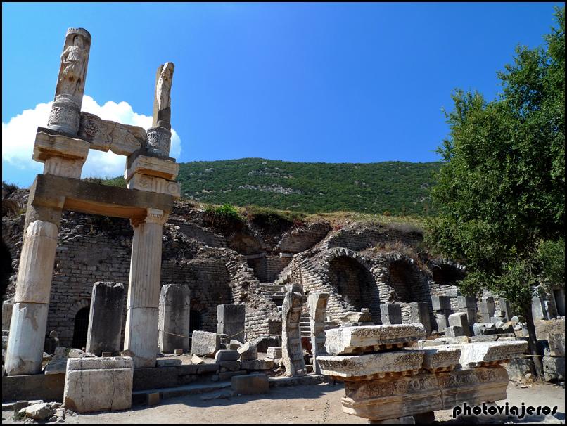 El templo de Domiciano de Efeso