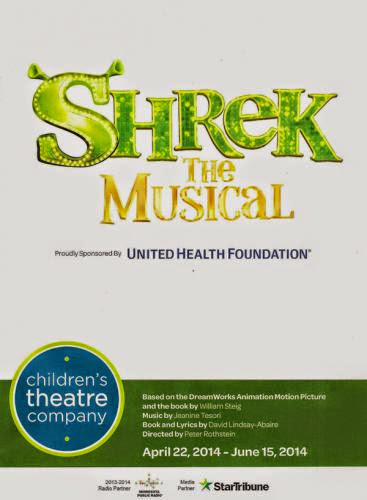 Shrek The Musical At Children Theatre Company