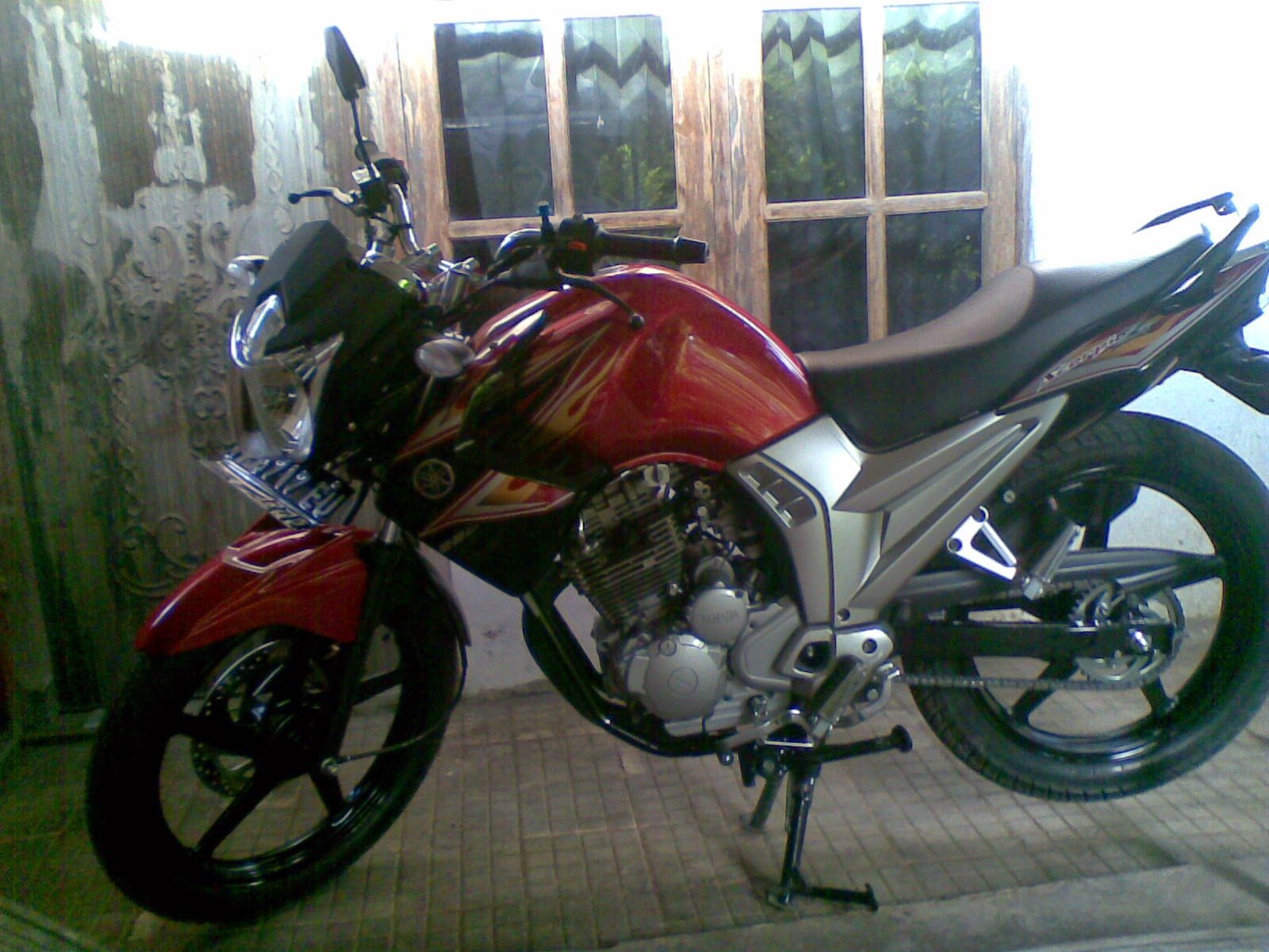 Yamaha Scorpio Z Modifikasi Touring