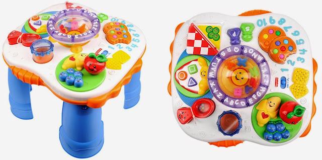 Chiếc bàn học phát nhạc FP C5522 cho bé rất nhiều sự lựa chọn để trải nghiệm