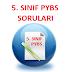 5. SINIF 2015 YILI PARASIZ YATILI BURSLULUK SINAVI SORULARI (PYBS - DPY)