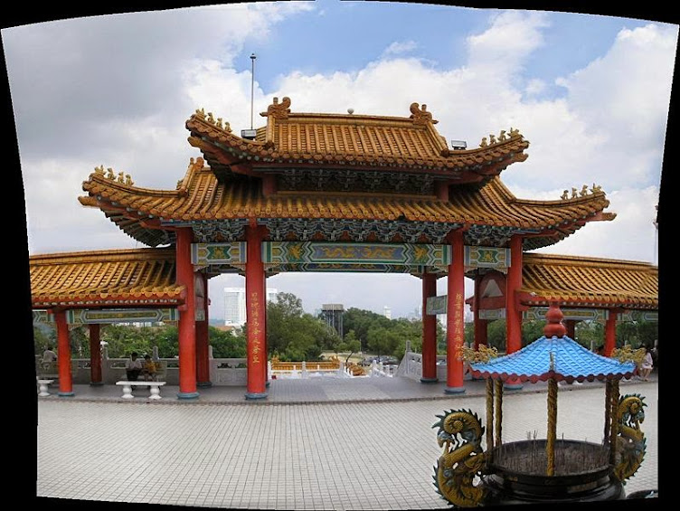 Main Gate of the Temple