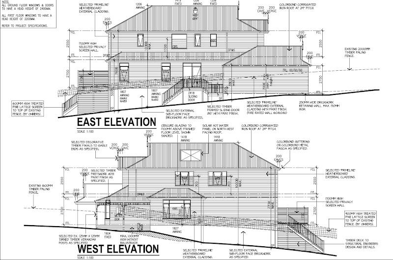 Appealing downward sloping block house designs pictures for Split level homes downward sloping block