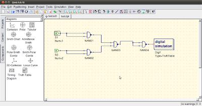 qucs 3 Software Simulasi Rangkaian Elektronika Open Source Terbaik Untuk GNU/Linux