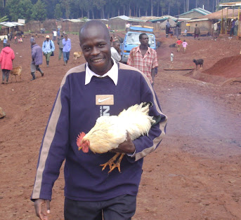 Pastor Adams recovers the runaway marathon chicken