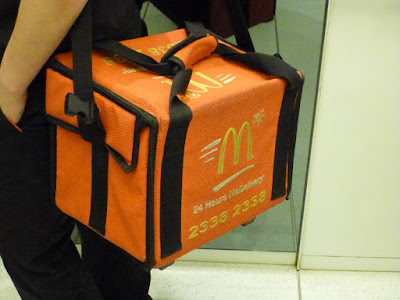 McDonalds Delivers in Hong Kong