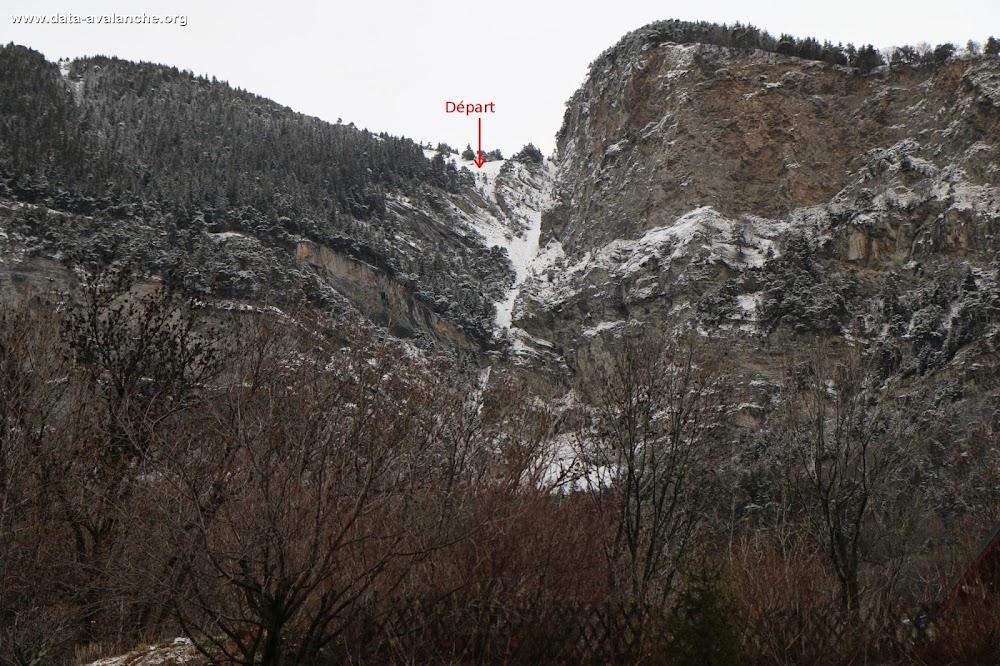 Avalanche Maurienne, secteur Montpascal, RD 77 Combe de la Chal - Photo 1