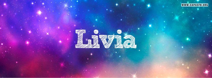 Capas para Facebook Livia