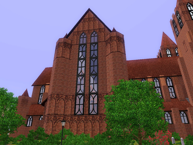 goottilainen katedraali sims3