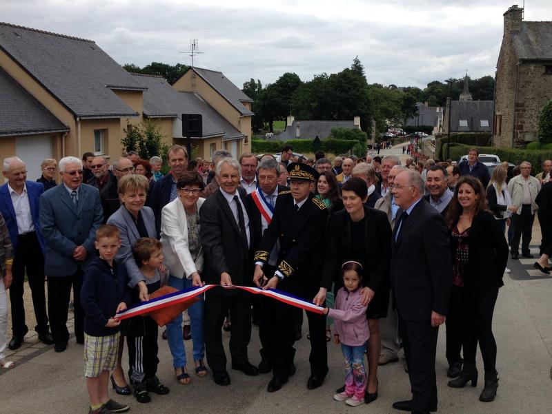 Inauguration du centre-bourg de Saint-Gonnery le 18 juin 2016