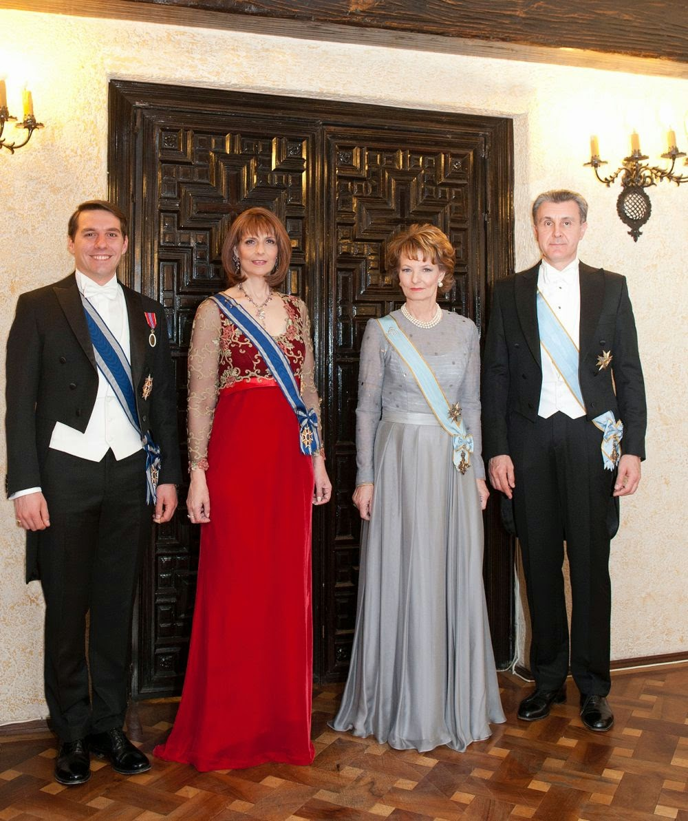 Principesa Moștenitoare Margareta, Principesa Maria, Principele Radu, Principele Nicolae